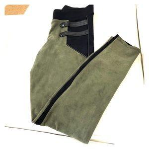 Funky Leggings - Green and Black combo